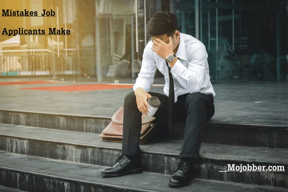 Mistakes Job Applicants Make Before A Job Interview